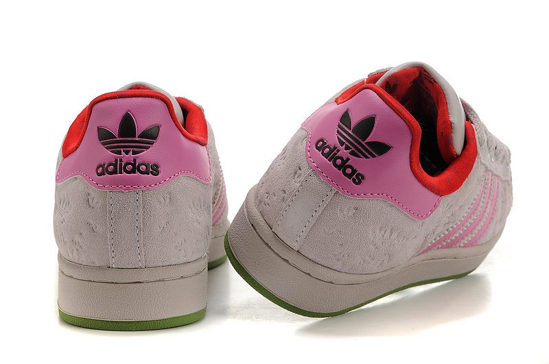 Women\'s Adidas Originals Superstar 2 Casual Shoes Beige/Pink 667200