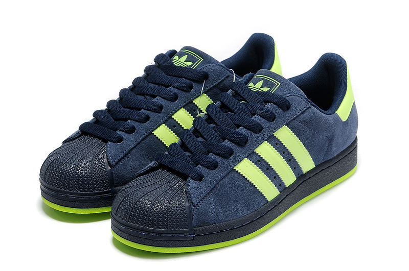 Women\'s Adidas Originals Superstar 2 Casual Shoes Dark Indigo / Electricity G43721