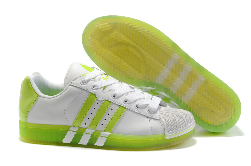 Men's/Women's Adidas Originals Superstar Ul Trastar Fruit Casual Shoes White/Lime G43824