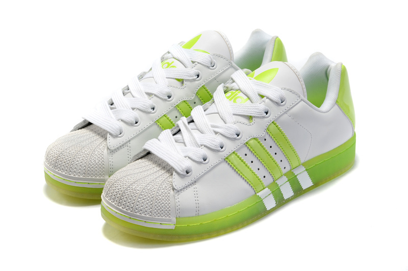 Men\'s/Women\'s Adidas Originals Superstar Ul Trastar Fruit Casual Shoes White/Lime G43824