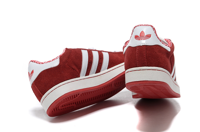 Men\'s/Women\'s Adidas Originals Superstar 2 Casual Shoes Red/White G02010