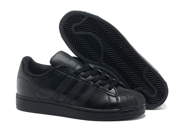 Men's/Women's Adidas Originals Superstar 2 Casual Shoes Black G14748