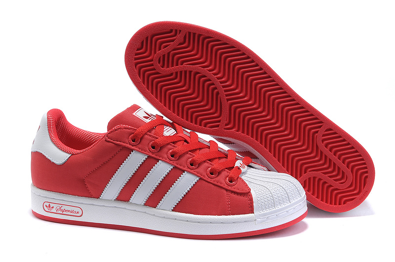 Men's/Women's Adidas Originals Superstar 2 Casual Shoes Red/White G42581
