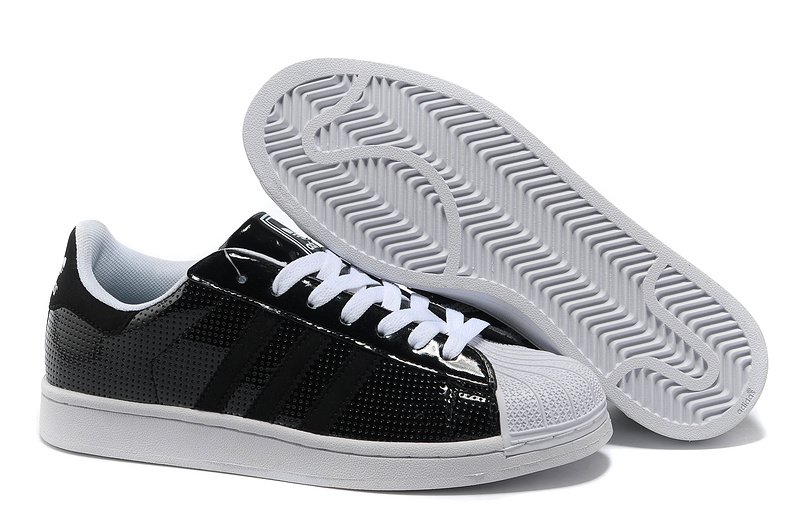 Men's/Women's Adidas Originals Superstar 2 Casual Shoes Black/White G60979