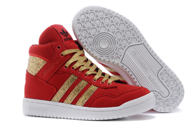 Men's/Women's Adidas Originals PRO CONFERENCE HI Casual Shoes Red D65939