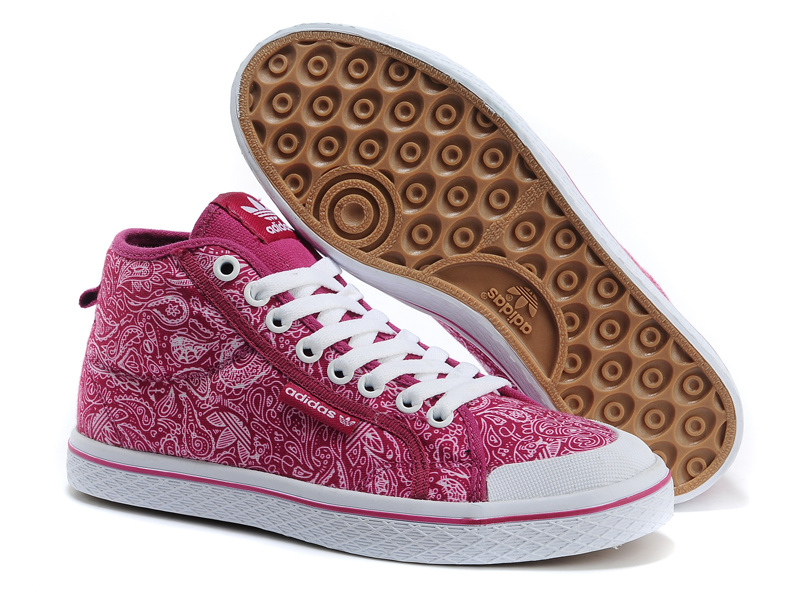 Women's Adidas Originals Honey Mid W Print Casual Shoes Pink G63047
