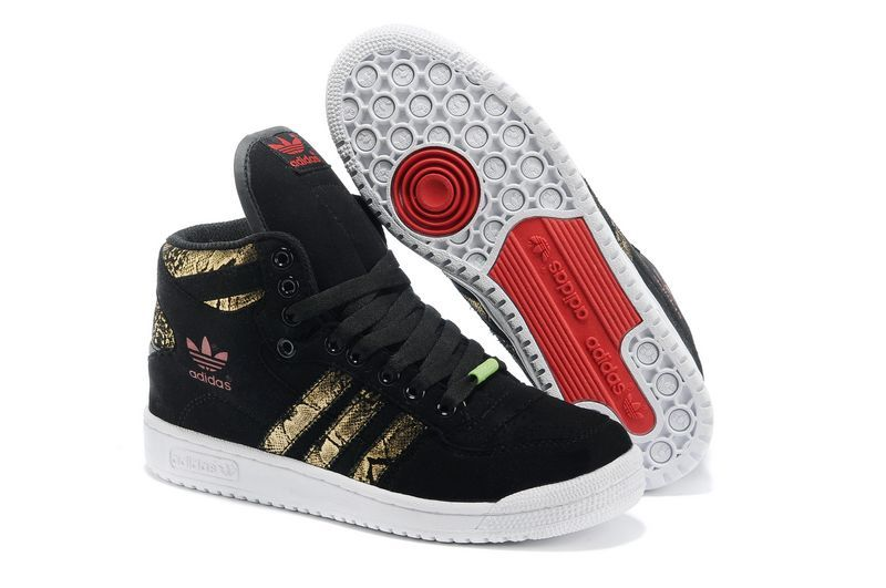 "Men's/Women's Adidas Originals DECADE OG MID ""Year of the Snake"" Casual Shoes Black/Gold Q35131"