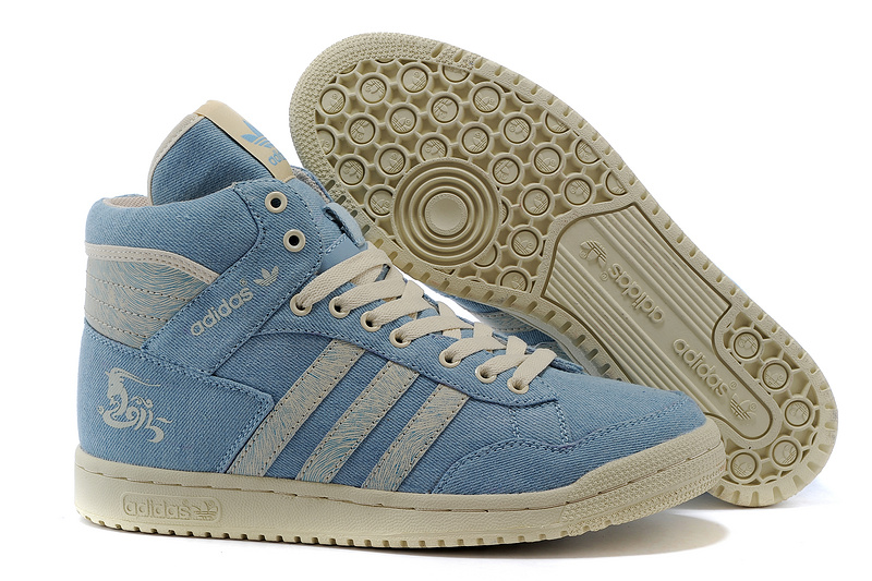 Men's/Women's Adidas Originals PRO Conferen HI CHY Casual Shoes Blue G15686