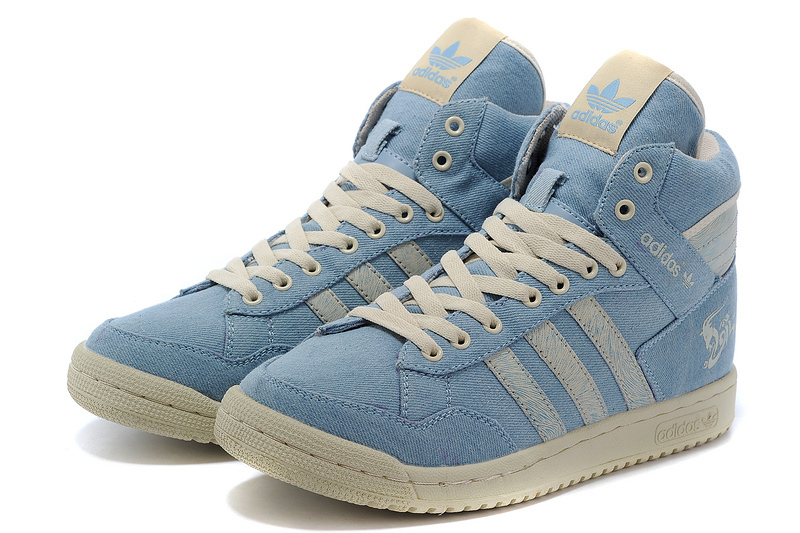 Men\'s/Women\'s Adidas Originals PRO Conferen HI CHY Casual Shoes Blue G15686