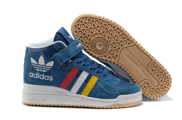 Men's/Women's Adidas Originals Forum Mid RS XL Casual Shoes French Blue G50823