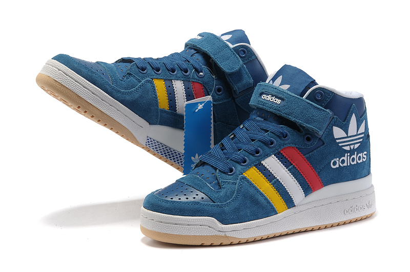 Men\'s/Women\'s Adidas Originals Forum Mid RS XL Casual Shoes French Blue G50823