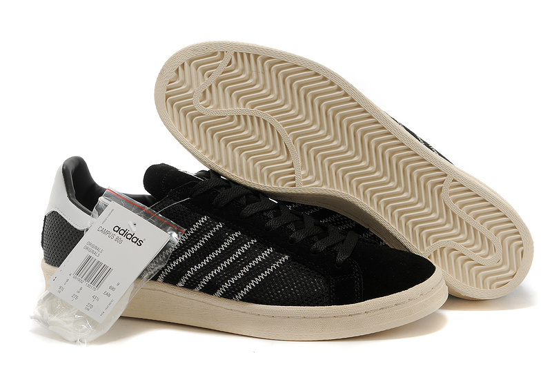 Men's/Women's Adidas Originals Campus 80s Casual Shoes Black