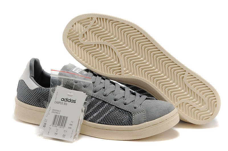 Men's/Women's Adidas Originals Campus 80s Casual Shoes Grey
