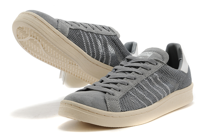 Men\'s/Women\'s Adidas Originals Campus 80s Casual Shoes Grey