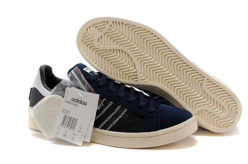 Men's/Women's Adidas Originals Campus 80s Casual Shoes Navy