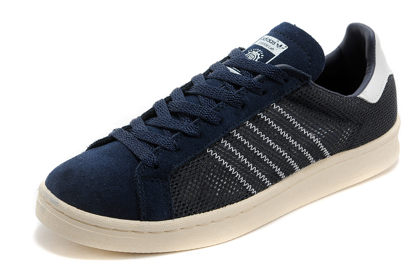 Men\'s/Women\'s Adidas Originals Campus 80s Casual Shoes Navy
