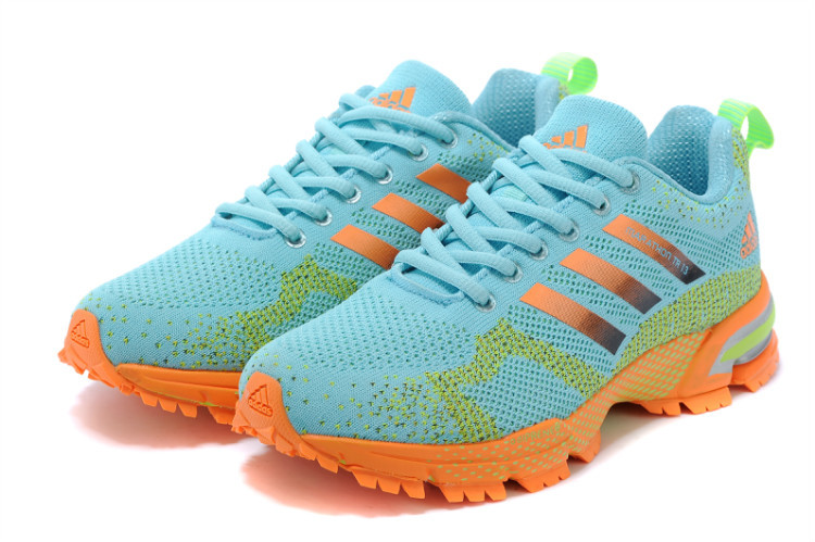 Women\'s Adidas Marathon TR 13 Running Shoes Pale Moon/Fluorescent Yellow V21841