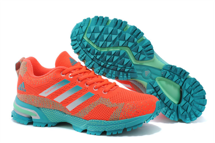 Women's Adidas Marathon TR 13 Running Shoes Orange/Ink Green V21842