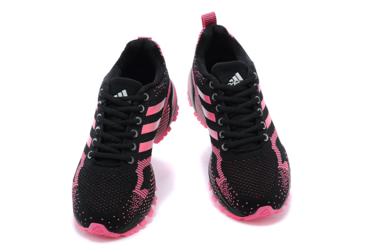 Women\'s Adidas Marathon TR 13 Running Shoes Black/Peach V21843