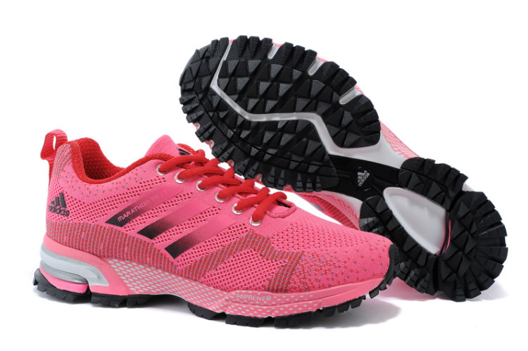 Women's Adidas Marathon TR 13 Running Shoes Fuchsia/Soil Red V21845