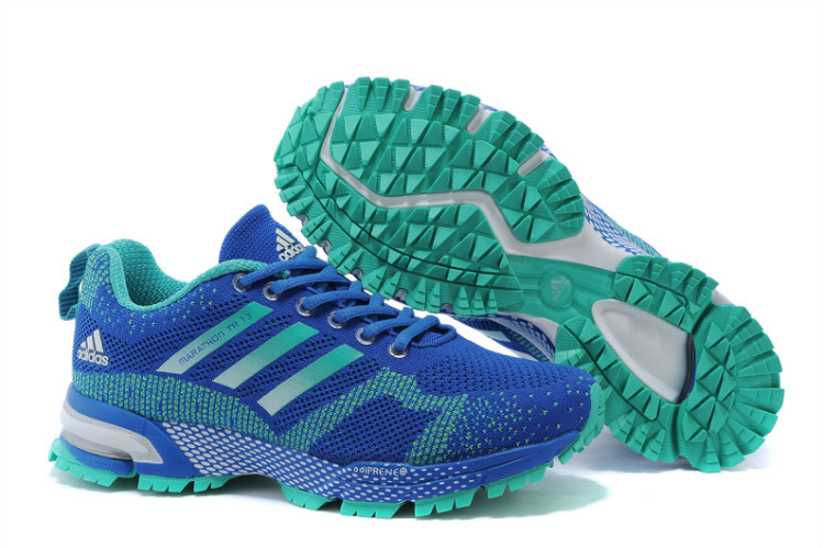 Women's Adidas Marathon TR 13 Running Shoes Bold Blue/Lake Blue V21846