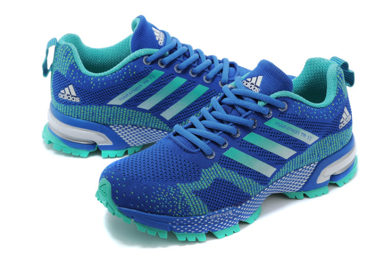 Women\'s Adidas Marathon TR 13 Running Shoes Bold Blue/Lake Blue V21846