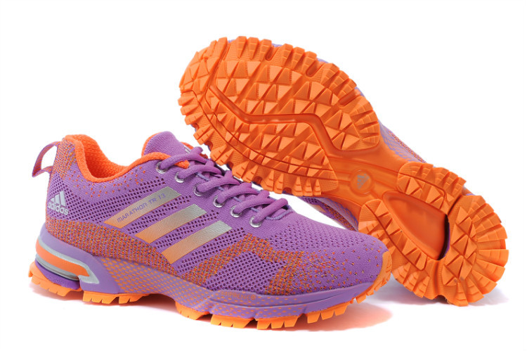 Women's Adidas Marathon TR 13 Running Shoes Violet/Orange V21848