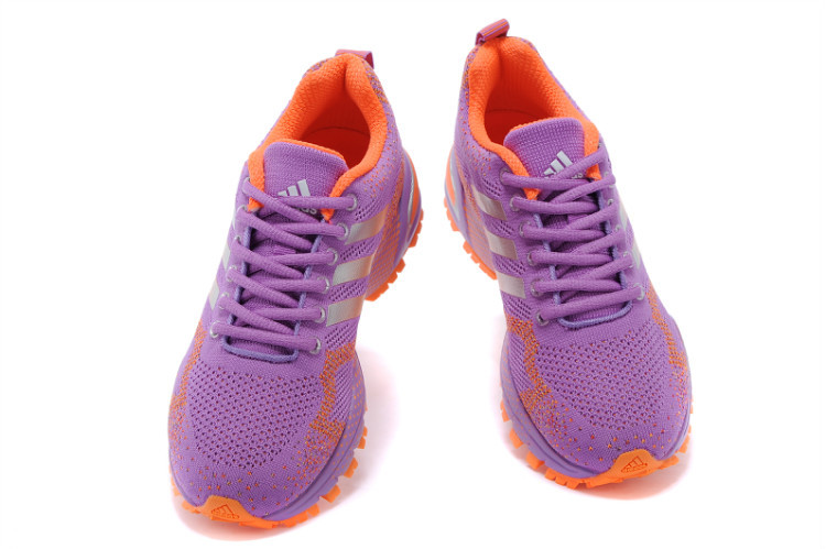 Women\'s Adidas Marathon TR 13 Running Shoes Violet/Orange V21848