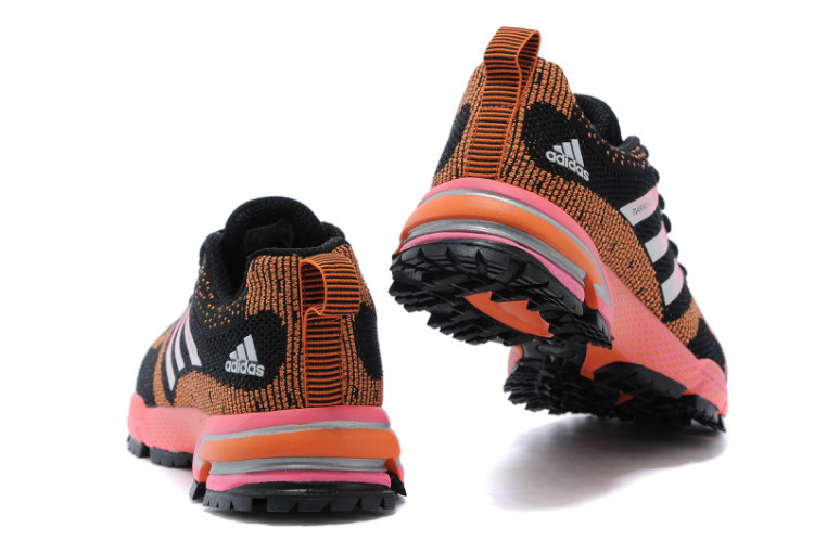 Women\'s Adidas Marathon TR 13 Running Shoes Black/Orange/Fuchsia V21849