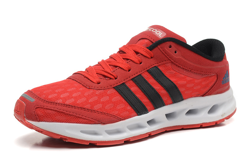 Men\'s Adidas Climacool Solution Running Shoes University Red/Core Black