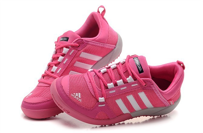 Women's Adidas Outdoor Daroga Two 11 CC Shoes Pink/White/Grey