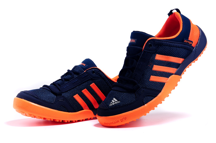 Men\'s Adidas Outdoor Daroga Two 11 CC Shoes Limpid/Hyper Orange D98805