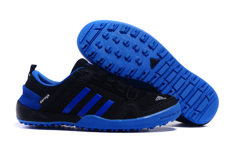 Men's Adidas Outdoor Daroga Two 11 CC Shoes Core Black/Bold Blue D98803