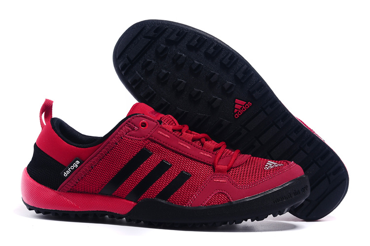 Men's Adidas Outdoor Daroga Two 11 CC Shoes Cardinal/Black D98807