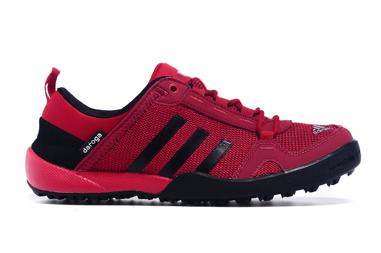 Men\'s Adidas Outdoor Daroga Two 11 CC Shoes Cardinal/Black D98807