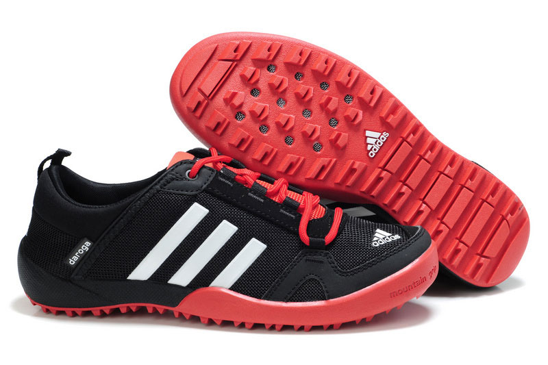 Men's/Women's Adidas Outdoor Daroga Two 11 CC Shoes Core Black/Bright Red