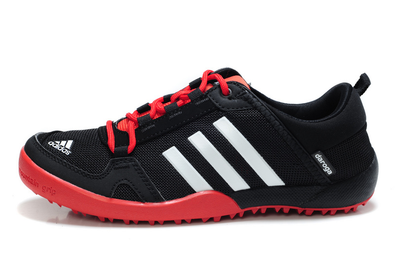 Men\'s/Women\'s Adidas Outdoor Daroga Two 11 CC Shoes Core Black/Bright Red