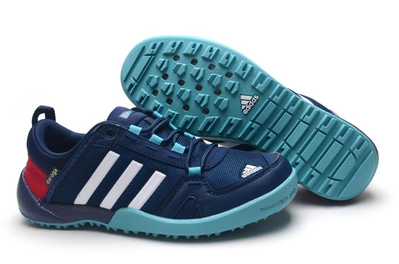 Men's/Women's Adidas Outdoor Daroga Two 11 CC Shoes Navy/Crimson/Green
