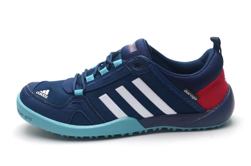 Men\'s/Women\'s Adidas Outdoor Daroga Two 11 CC Shoes Navy/Crimson/Green