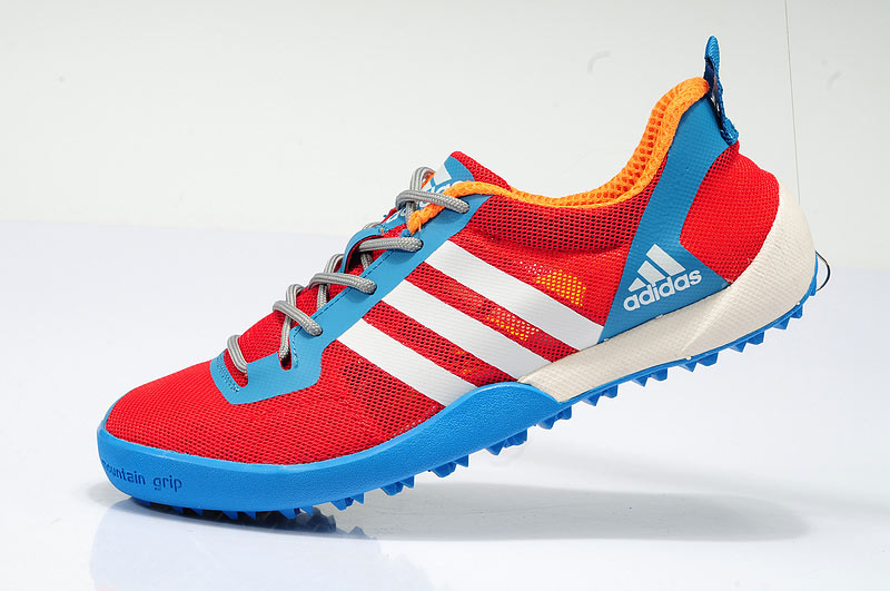 Men's/Women's Adidas Outdoor Daroga Two 11 CC Shoes Scarlet/Cffcfff/Delighted Blue D97885