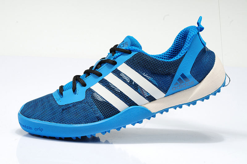 Men's/Women's Adidas Outdoor Daroga Two 11 CC Shoes Clear Blue/Pale White/Delighted Blue G97888