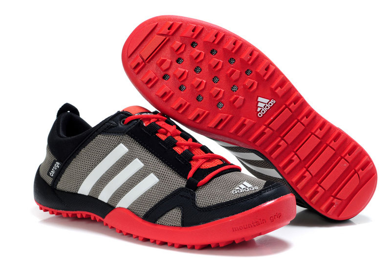 Men's/Women's Adidas Outdoor Daroga Trail CC M Shoes Grey/Black/Bright Red V21565
