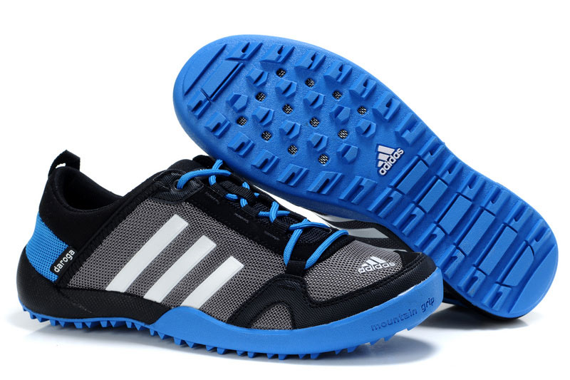 Men's/Women's Adidas Outdoor Daroga Trail CC M Shoes Grey/Black/Bold Blue V21568