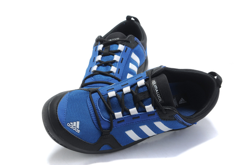 Men\'s/Women\'s Adidas Outdoor Daroga Trail CC M Shoes Bluebird/White/Black