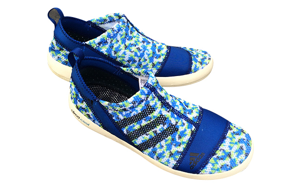 Men\'s/Women\'s Adidas Outdoor Climacool Boat SL Unisex Shoes Royal Blue Volt M21853