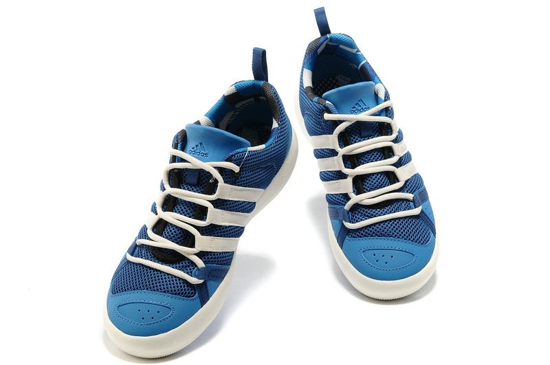 Men\'s/Women\'s Outdoor Climacool Boat Lace Shoes Dark Blue G60609