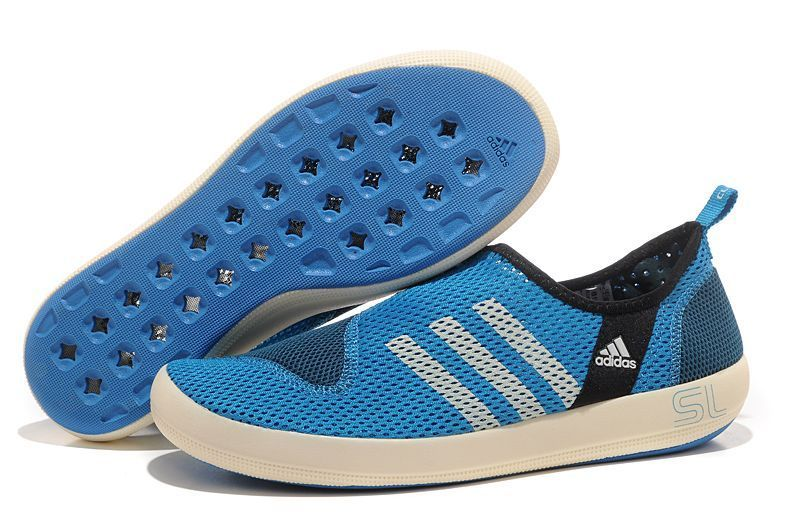 Men's/Women's Adidas Outdoor Climacool Boat SL Unisex Shoes Bold Blue/White G46723