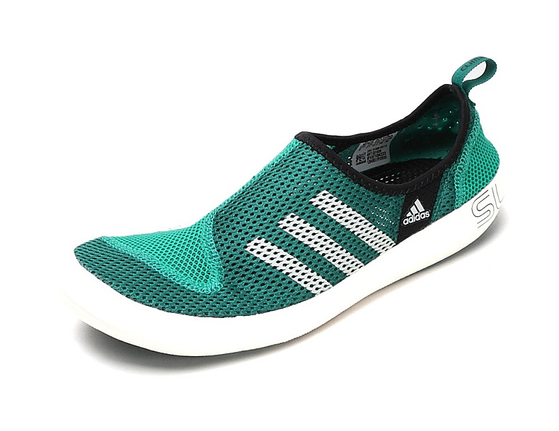 Men's/Women's Adidas Outdoor Climacool Boat SL Unisex Shoes Grass Green/White Q21026