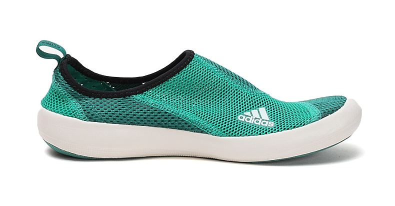 Men\'s/Women\'s Adidas Outdoor Climacool Boat SL Unisex Shoes Grass Green/White Q21026