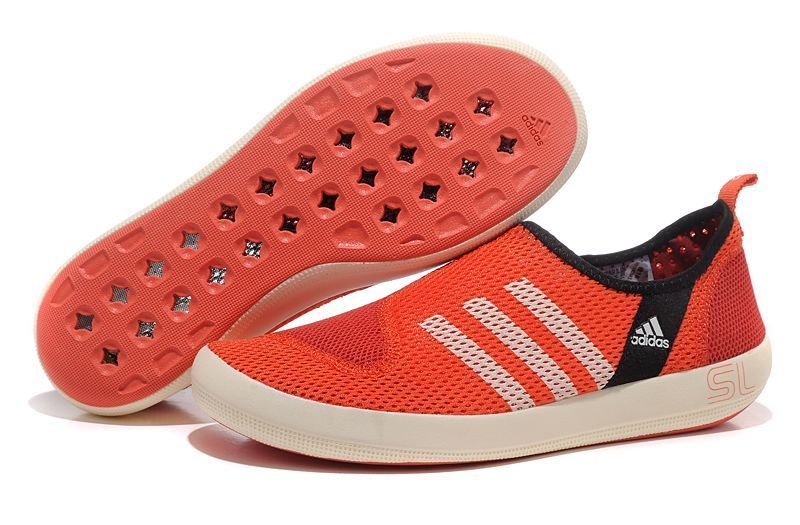 Men's/Women's Adidas Outdoor Climacool Boat SL Unisex Shoes Pink/White G46725